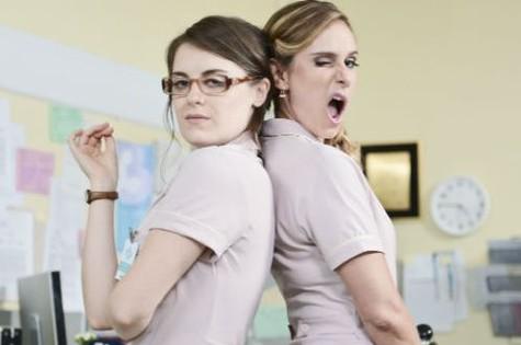 Alessandra Maestrini e Aline Fanju em 'As canalhas' (Foto: Reprodução)