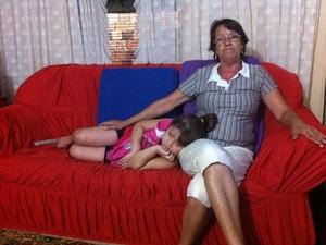 Elaine Marques Gonçalves detalhou no ano passado dificuldades financeiras (Foto:  Tatiana Lopes/G1)