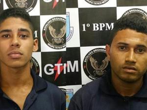 Supeitos de furtar fios de cobre da Vale são presos em São Luís (Foto: Divulagação/ Polícia Militar)
