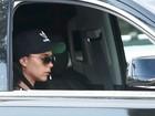 Victoria Beckham é flagrada cochilando no carro em passeio
