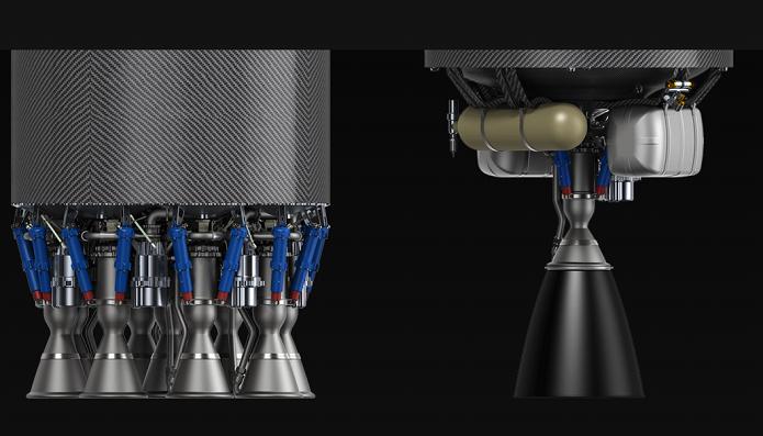 Assim fica o modelo de foguete com o motor (Foto: Divulgação)