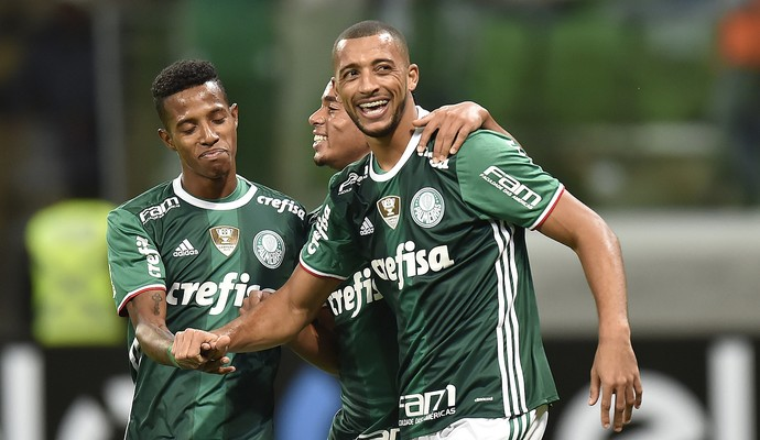 Vitor Hugo Palmeiras x Fluminense (Foto: Mauro Horita)