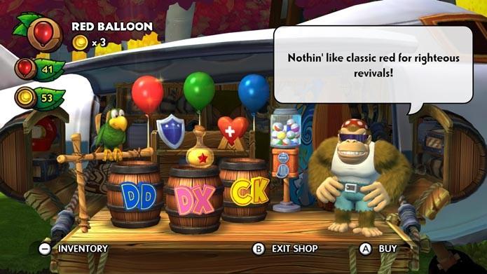 Vidas, escudos e outros itens podem ser comprados na loja do game (Foto: Reprodução/Murilo Molina)