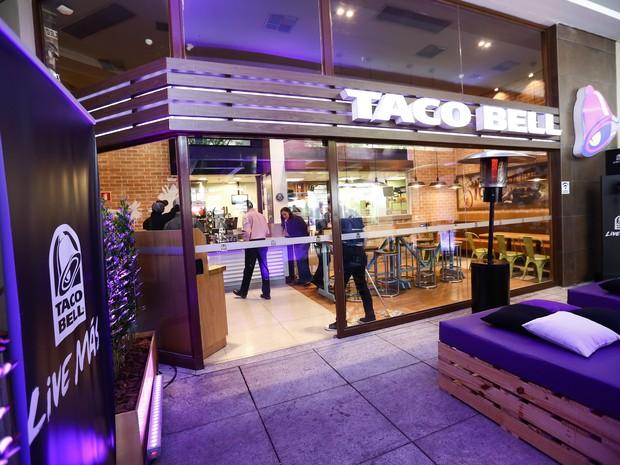 Taco Bell abre sua primeira loja no Brasil (Foto: Divulgação)