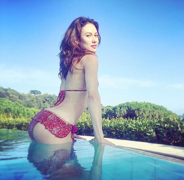 A atriz ucraniana Olga Kurylenko (Foto: Instagram)