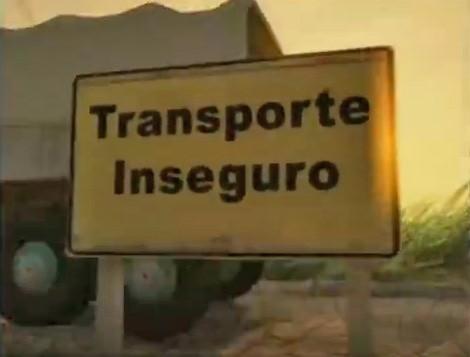 Série Transporte Inseguro (Foto: Reprodução)