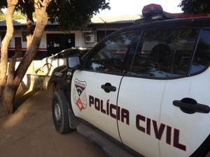 Delegacia de Ariquemes já está registrando boletins (Foto: Jonatas Boni/ G1)