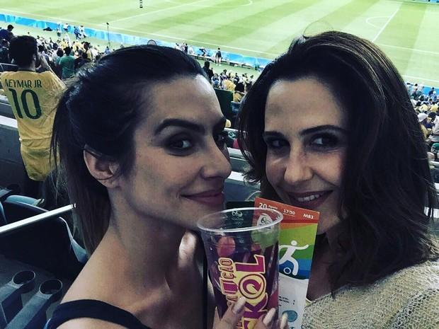 Cleo e Guilhermina (Foto: Reprodução/Instagram)