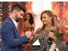Radamés comemora o 'sim' de Vivi Araújo após pedido de casamento