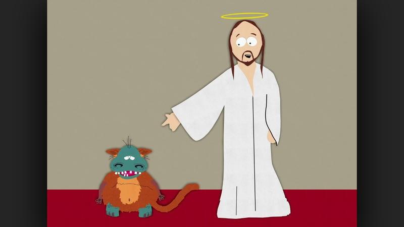 Deus  uma coisa estranha em South Park (Foto: Divulgao)