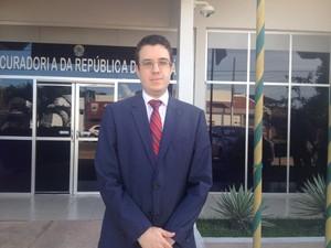 Procurador da República, Ricardo Negrini (Foto: Cassio Albuquerque/G1)