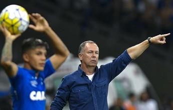 Mano admite erro em escolha tática e pior jogo do Cruzeiro em seu comando