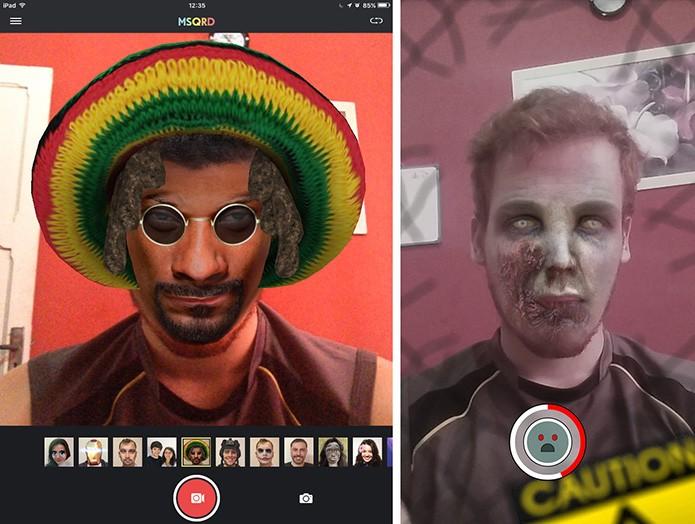 MSQRD pode gravar até 30 segundos de vídeos enquanto Snapchat faz apenas 10 segundos (Foto: Reprodução/Elson de Souza)
