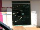 Câmeras de segurança flagram furto a lotérica em Quadra