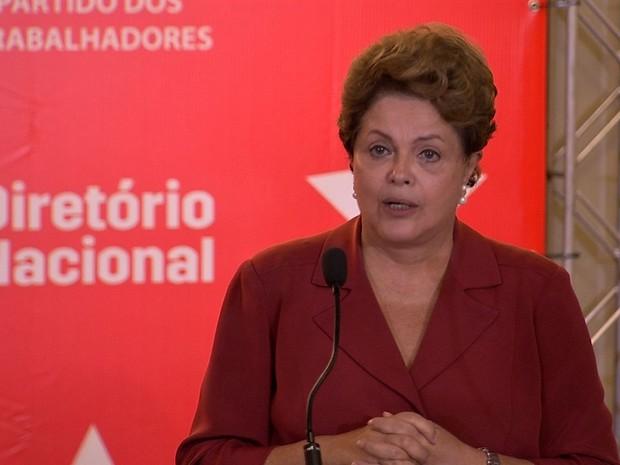 Dilma Rousseff (Foto: TV Verdes Mares/Reprodução)