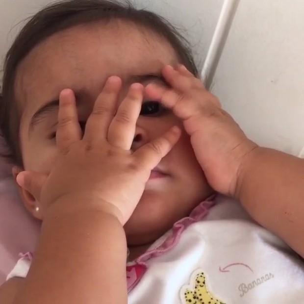 Nívea Stelmann posta vídeo da filha, Bruna (Foto: Instagram / Reprodução)