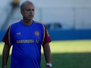Alexandre Gama, técnico do Madureira (Foto: Carlos Júnior/FutRio)