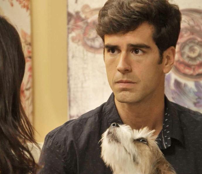 'É você ou ela', diz Felipe, após aconselhar que Shirlei acuse Carmela (Foto: TV Globo)
