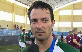 Vice com Palmeiras, Thiago Gentil  é eleito melhor jogador do Brasileiro