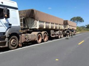 A operação abrangeu municípios do Sul do estado (Foto: Divulgação/PRF)