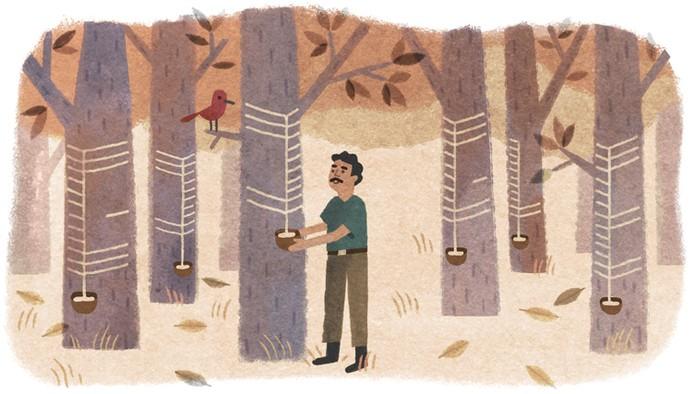 Doodle Chico Mendes (Foto: Reprodução/Google)