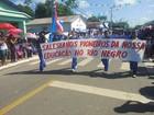 Desfile de estudantes e militares celebra elevação do AM à província