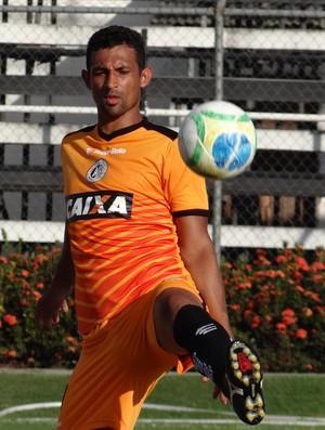 Edson Veneno, zagueiro do ASA (Foto: Leonardo Freire/GloboEsporte.com)