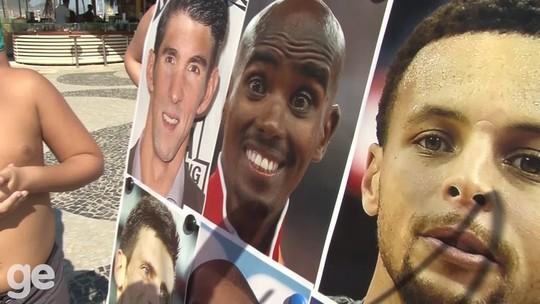 torcedores mostram se conhecem os destaques internacionais dos Jogos Olímpicos