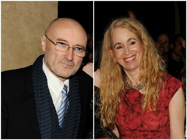 Phil Collins e Jill Tavelman (Foto: Getty Images)