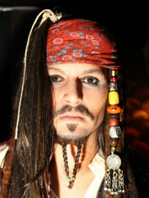 Johnny Depp (Foto: Divulga&#231;&#227;o/ Dreamland - Museu de Cera)