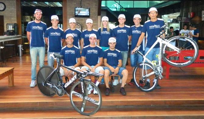 equipe ciclismo santos (Foto: Divulgação / E5 Comunicação)