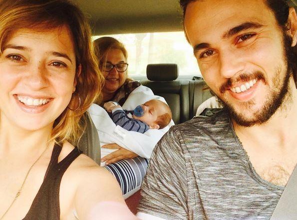 Paloma Duarte passeia com filho e família (Foto: Instagram / Reprodução)