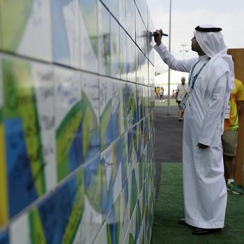 Hosam Alqurashi Arábia Saudita (Foto: AP)