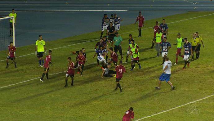 Ypiranga; Baré; Amapá; Futebol (Foto: Reprodução/Rede Amazônica no Amapá)
