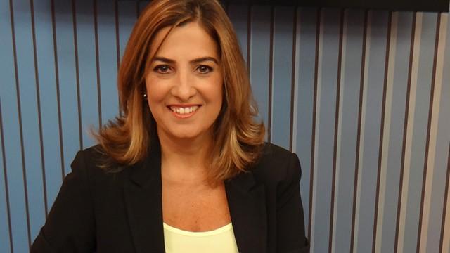Melissa Paiva - Apresentadora do Jornal da Tribuna 2ª edição (Foto: Éder Pin)