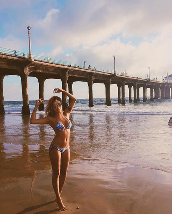 Carolina Oliveira na Califórnia (Foto: Reprodução/Instagram)