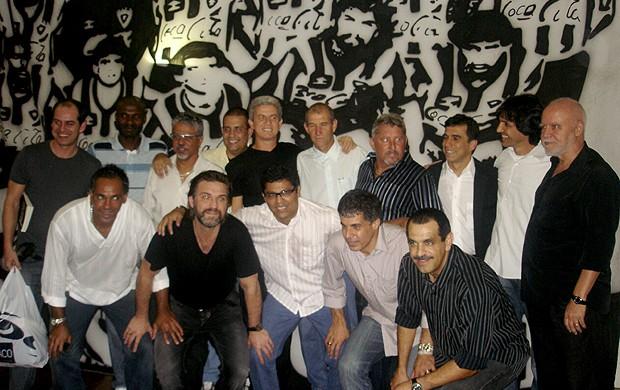 Time Botafogo 1989 homenagem (Foto: Thiago Fernandes / Globoesporte.com)