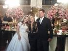 Tuanny, ex-integrante da Nova Turma do Balão Mágico, se casa no Rio