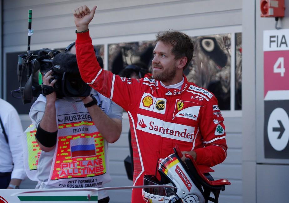 Vettel diz se sentir