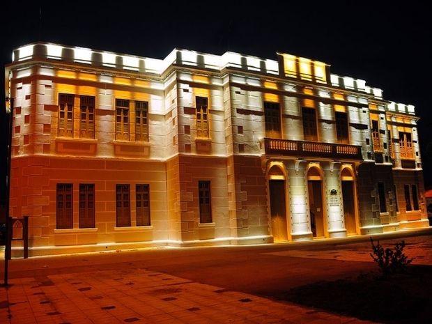 Centro Cultural de Aracaju funciona no antigo prédio da alfândega (Foto: Edinah Mary/Funcaju)