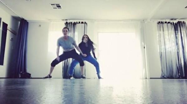 Shannen Doherty e amiga treinando (Foto: Reprodução Instagram)