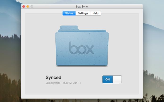 Ative a sincronização do app do Box (Foto: Reprodução/Paulo Alves)