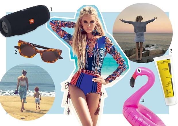 Guia de verão - Carol Trentini (Foto: Jr Duran/Arquivo Vogue, Reprodução/Instagram e Divulgação)