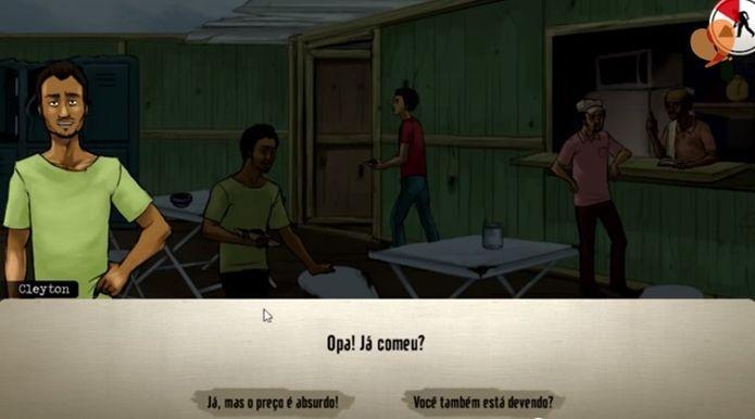 Jogo da Repórter Brasil lida com escolhas em situação de trabalho escravo (Foto: Divulgação)