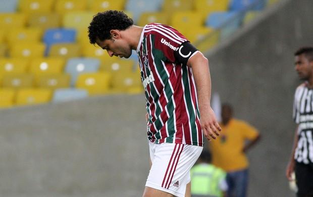 Fred fluminense santos brasileirão (Foto: Fernando Cazaes / Photocamera)