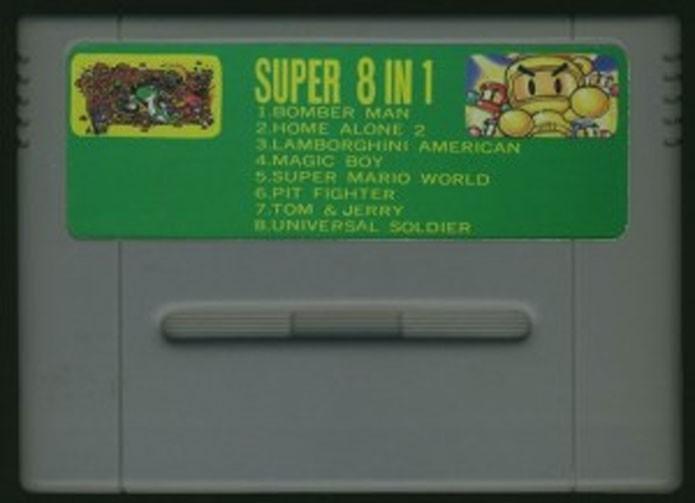 Cartuchos com vários jogos em um eram populares no Super Nintendo (Foto: Reprodução)