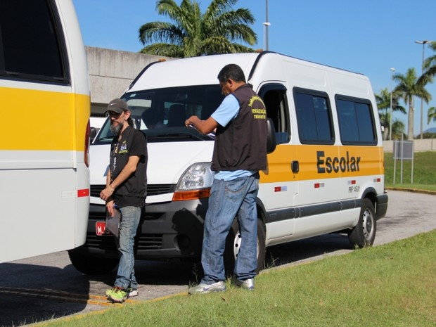 Florianópolis deve vistoriar frota de 165 vans e micro-ônibus (Foto: Aline Andrade/PMF/Divulgação)