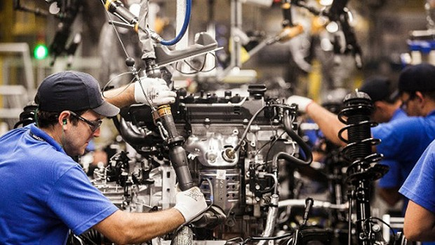 Produção industrial; PIB; Produto Interno Bruto; indústria; mão-de-obra; emprego; trabalho ; fábrica ;  (Foto: Agência Brasil/Arquivo)