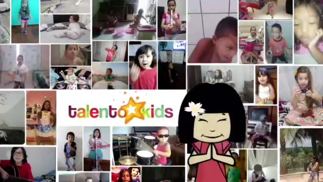 Talento Kids - Agradecimento (Foto: Reprodução/TV Tribuna)