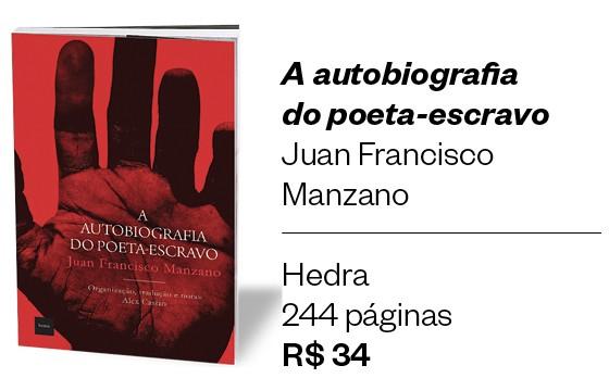 """Livro """" A autobiografia do poeta-escravo"""" (Foto: Divulgação)"""